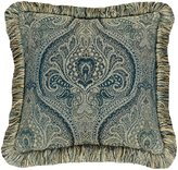 Rose Tree Preston Damask and Textured Reversible Square Pillow