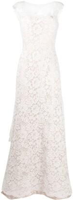 Alberta Ferretti Orione lace gown