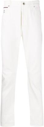 Brunello Cucinelli Straight Leg Denim Jeans