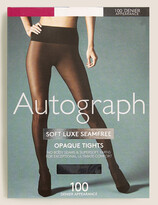 Autograph UsMarks and Spencer 100 Denier Seamfree Opaque Tights