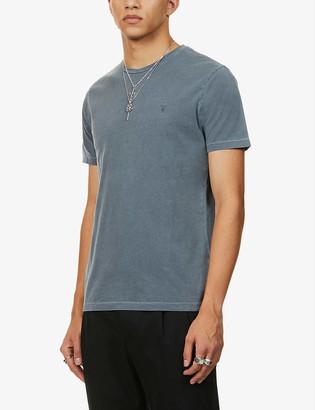 AllSaints Ossage slim-fit cotton-jersey T-shirt