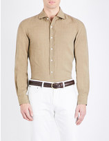 Ralph Lauren Purple Label Serengeti linen shirt