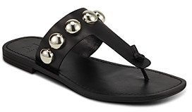 Marc Fisher Women's Festas Studded Thong Sandals