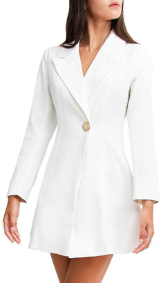 Belle & Bloom The Avenue Blazer White Dress