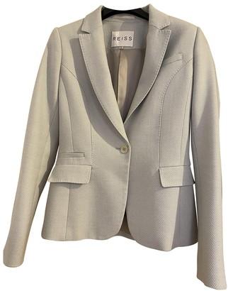 Reiss Green Cotton Jacket for Women