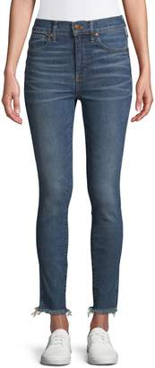 Madewell High-Rise Skinny Raw-Hem Jeans