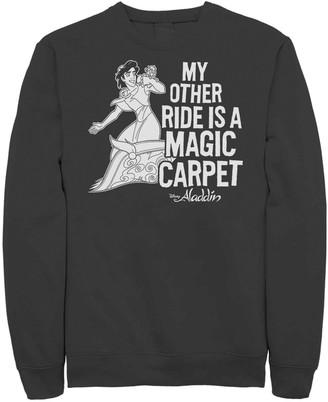 "Disney Juniors' Disney's Aladdin ""My Other Ride is a Magic Carpet"" Graphic Sweatshirt"