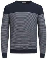 Jack & Jones Knit Crewneck Cotton Top