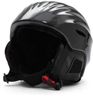 Perfect Moment Mountain Mission Star-print Ski Helmet - Black