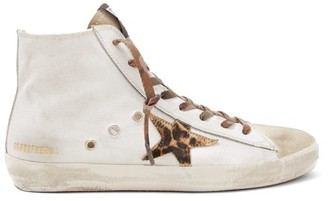Golden Goose Francy High-top Trainers - White