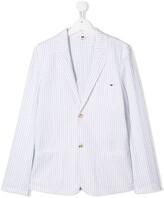 Emporio Armani Kids TEEN pinstripe blazer