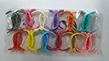 Clips BUY 10 pc X Hair Styling Clips,stylish DOTED multicolored Hair Accessories & GET 1 FREE ...