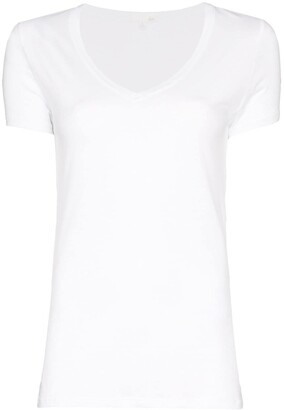 Skin V-neck T-shirt
