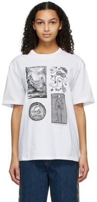 Alexander McQueen White Skeleton T-Shirt
