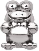 Persona Sterling Silver Happy Frog Charm fits Pandora, Troll & Chamilia European Charm Bracelets