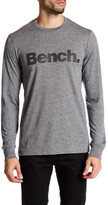 Bench Marled Logo Long Sleeve Tee