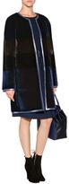 Paule Ka Fur Coat in Encre