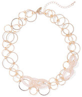 New York & Co. Double-Row Chain-Link Collar Necklace