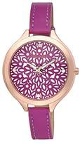 Laura Ashley Women's LA31023PK Analog Display Quartz Pink Watch