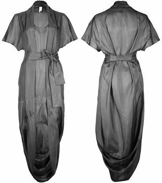 Format Sage Dress Pure Silk - grau / onesize