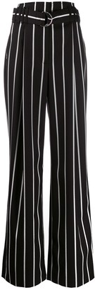 Proenza Schouler High Waisted Striped Pants