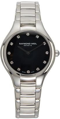 Raymond Weil Noemia Stainless Steel Diamond Bracelet Watch