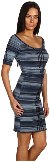 Z Spoke Zac Posen Lively 3/4 Sleeve Dress