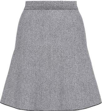 Theory Flared Melange Ponte Mini Skirt