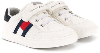 Tommy Hilfiger Junior Flag Logo Sneakers