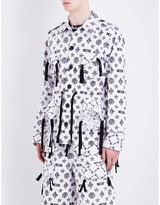 Ktz Monogram-print Cotton Jacket
