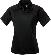 Clique Black Canberra Lady Polo