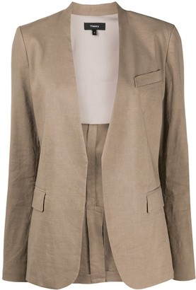 Theory Staple open-front blazer