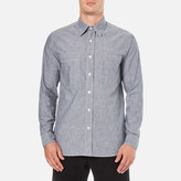 Nigel Cabourn Denim Chambray Workers Shirt Indigo