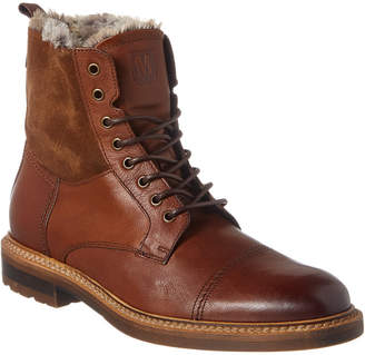 Bruno Magli M By Cameo Leather & Suede Boot