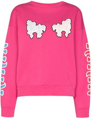 Kirin Haetae logo-print sweatshirt