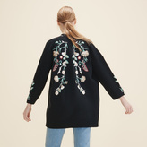 Maje Cardigan with embroidery