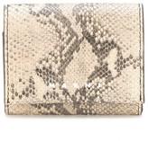 Marni snakeskin effect cardholder