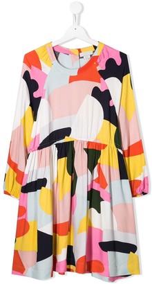 Stella McCartney patchwork print dress