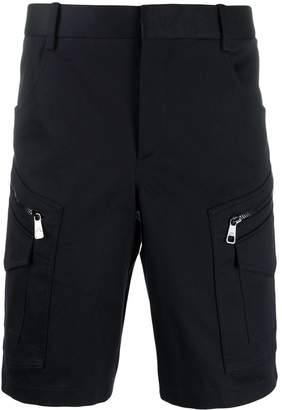 Neil Barrett zipped cargo shorts