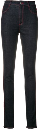 Stella McCartney High Rise Skinny Jeans