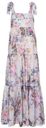 Zimmermann Brighton floral cotton midi dress