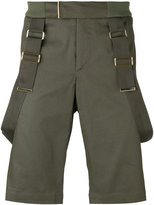 Les Hommes strap detail shorts - men - Cotton/Nylon/Spandex/Elastane - 46