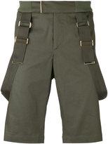 Les Hommes strap detail shorts - men - Cotton/Spandex/Elastane/Nylon - 48