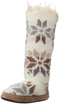 Muk Luks Women's Maleah Winter White Slouch Boot