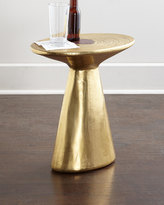 Horchow Dorian Brass Accent Table