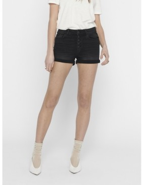 Only Hush Button Front Cut Off Shorts