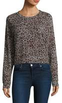 Stateside Leopard-Print Pullover