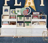 Pottery Barn Kids Cameron Low Storage System with 3 Drawer Bases