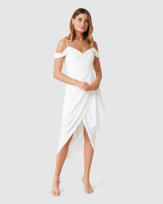 Forever New Petite Hadley Waterfall Petite Midi Dress