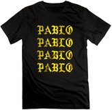 iApparel Mens Kanye West Pablo Pop-Up Cali Thornhill NEW YORK T Shirts